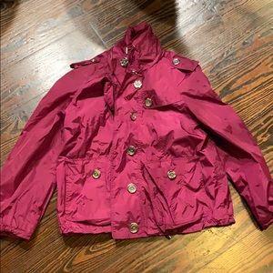 0cbac73c52d Cropped Burberry Rain Coat